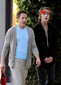 Robert Downey Jr. congratulates son Indio on sobriety - NY ...