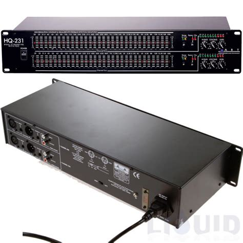 Art Hq231 Dual 31 Band Graphic Equalizer  (new) Free 2