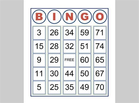 premium bingo templates