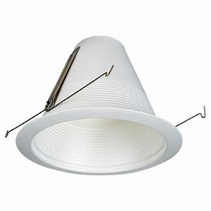Shop Sea Gull Lighting White Baffle Recessed Light Trim