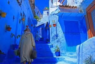 モロッコ:... を求めてモロッコへ(青の