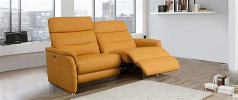 canap 233 relaxation en cuir monaco cuir center cuir center