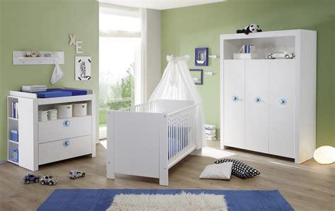 Babyzimmer komplett Set weiß Kinderzimmer Olivia 5 teilig