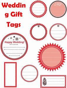 Christmas gift tags template word