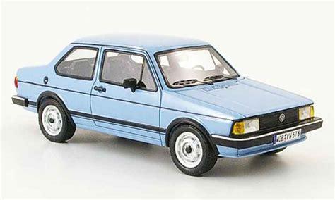 Volkswagen Jetta 1 Zweiturer Blue Neo Diecast Model Car 1