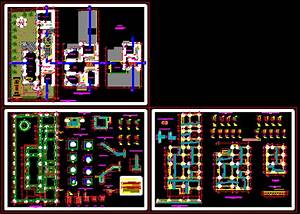Single Housing DWG Plan for AutoCAD • Designs CAD