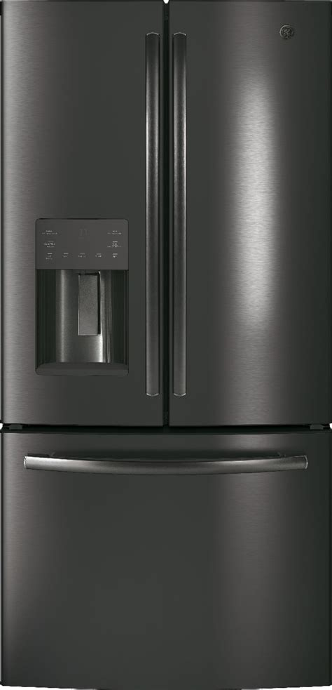gyejblts ge   cu ft counter depth french door refrigerator black stainless