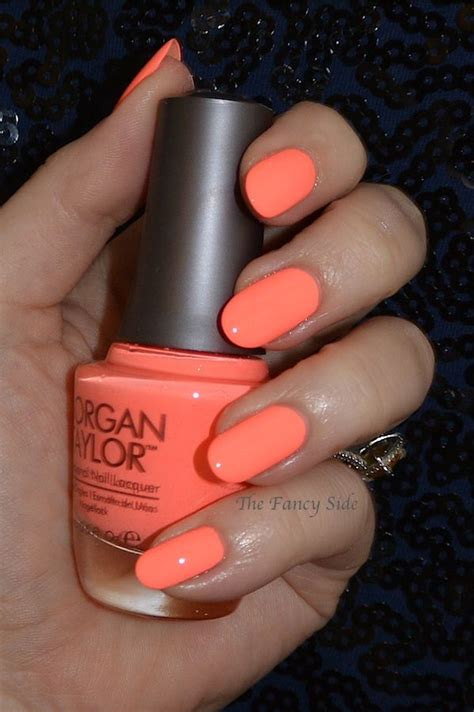 fancy side morgan taylor neon collection dont