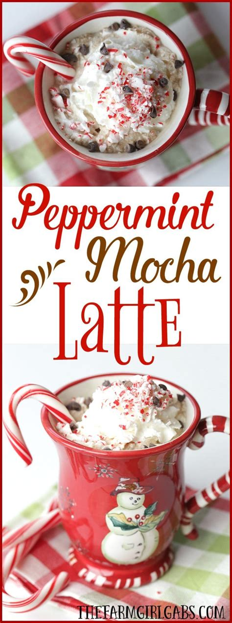 Yes, i swear by a macchiato any day, but getting a large mug of iced or hot coffee with a twist is just so rewarding! Peppermint Mocha Latte   Recipe   Peppermint mocha, Coffee ...
