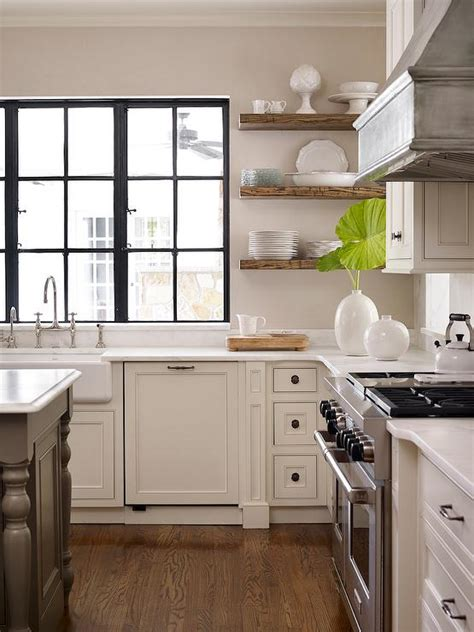 floating kitchen cabinets kitchen with wood floating shelves transitional kitchen 3776