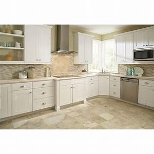 white shaker kitchen cabinets home depot roselawnlutheran With home depot white kitchen cabinets
