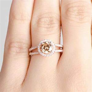 cheap rose gold engagement rings wedding and bridal With rose gold wedding rings cheap