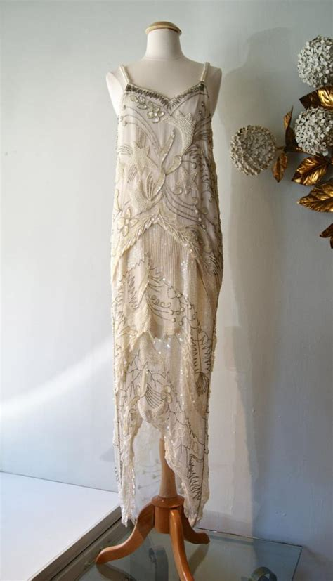reserved  style beaded flapper wedding dress