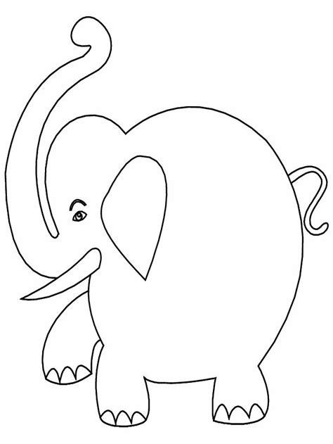 Elephant Template For Preschool by Elephant Template For Preschool Free Template Design