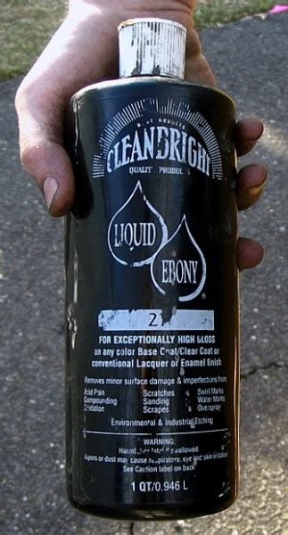 clean bright liquid ebony autogeekonline gallery