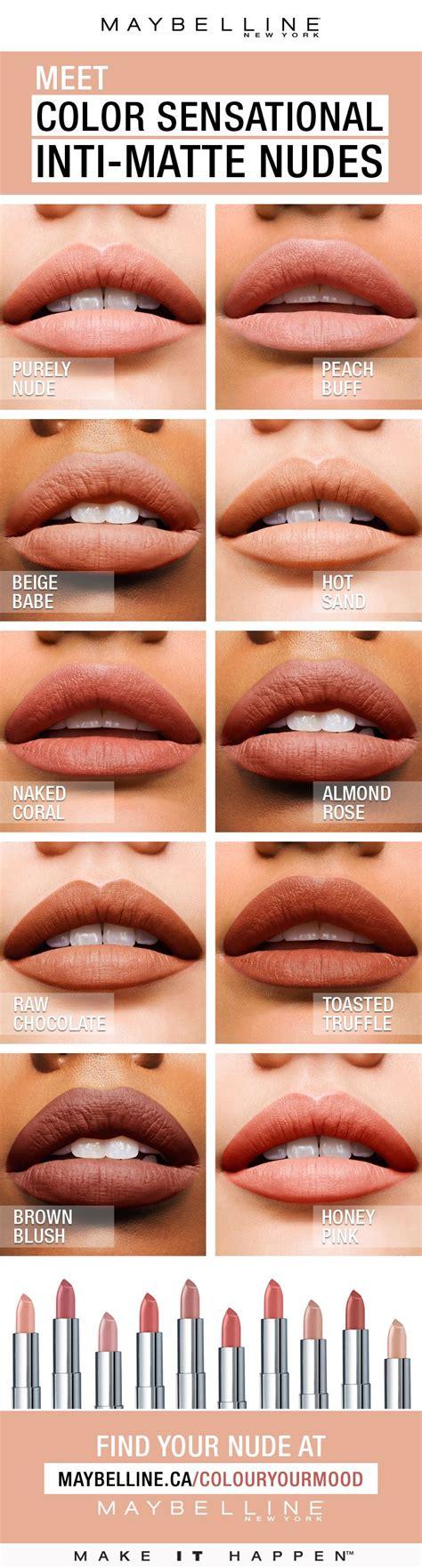 Warm Golden by Color Sensational 174 Inti Matte Lipstick Features Warm
