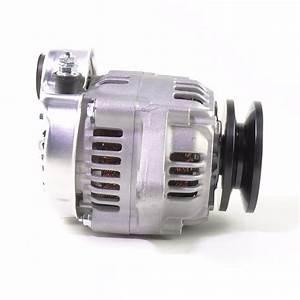 12 Volt Small Alternator With 40 Amp Negative Ground  3-wire