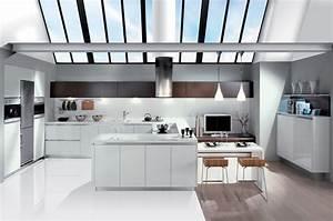 Photo De Cuisine : la cuisine blanche le blog des cuisines ~ Premium-room.com Idées de Décoration