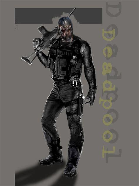 concept deadpool wolverine origins marvel characters creativeuncut did nick xmow