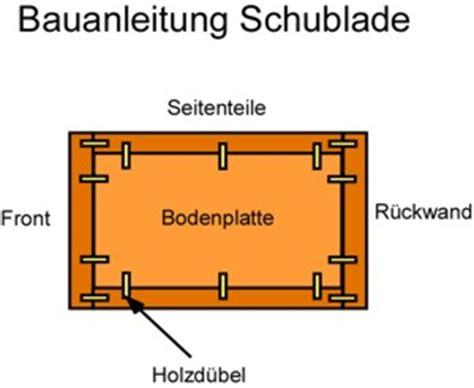 ölfass Möbel Bauanleitung by Schublade Selber Bauen Anleitung Schubladen Selber Bauen