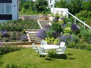 Amenagement jardin en pente idees pour vous faciliter la for Amenagement de jardin en pente