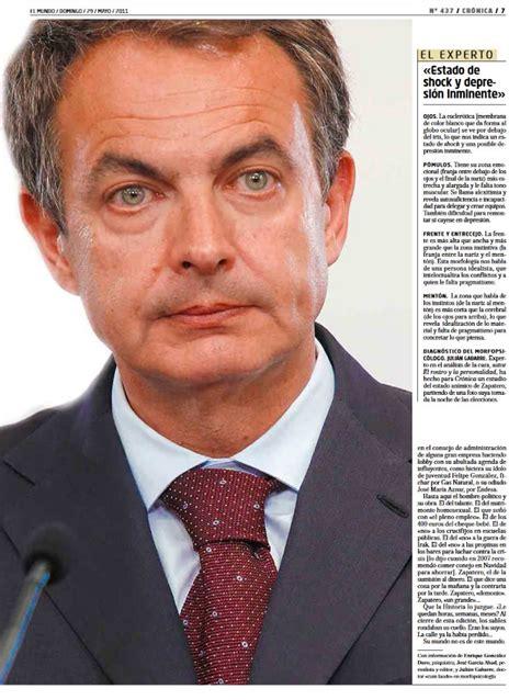 Crónica El Mundo José Luis Rodríguez Zapatero
