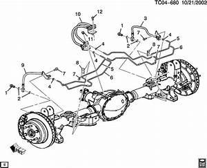 Chevrolet Suburban Brake Lines  Rear