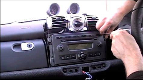 smart 451 radio how to remove a smart fortwo 450 451 and roadster stereo