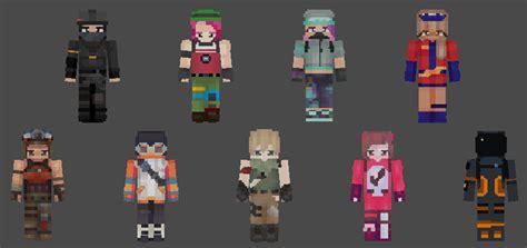 fortnite heroes skin pack  minecraft skin packs