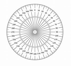 full circle protractor template printable wwwpixshark With full circle protractor template