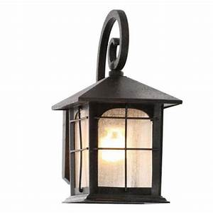 outdoor exterior porch wall 1 light lantern lighting With outdoor lighting fixture sets