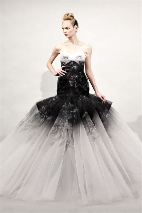 ideas  beautiful black  white wedding dresses