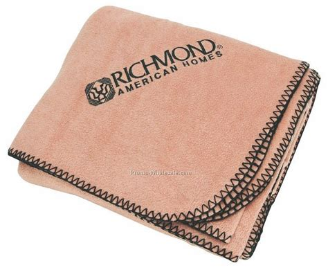Trail Worthy Fleece Blanket (embroidered),wholesale China
