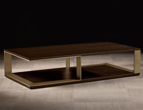 nella vetrina hector luxury italian coffee table  mocha