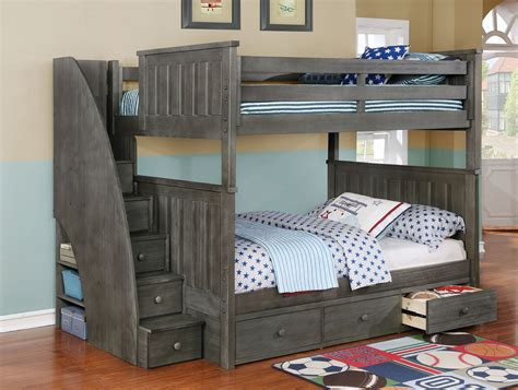 6342 bunk beds with stairs advantages of bunk beds with stairs tcg