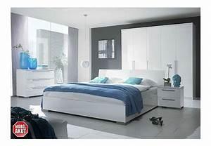 Schlafzimmer Weiß Hochglanz : maxy schlafzimmer set i schwarz wei hochglanz ~ Orissabook.com Haus und Dekorationen