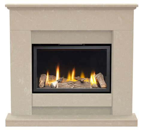 elsdon roman stone marble complete fire surround