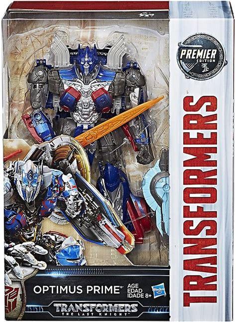 hasbro   knight premier edition voyager optimus prime