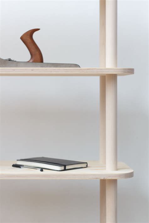 modular shelving system  wooden rods digsdigs