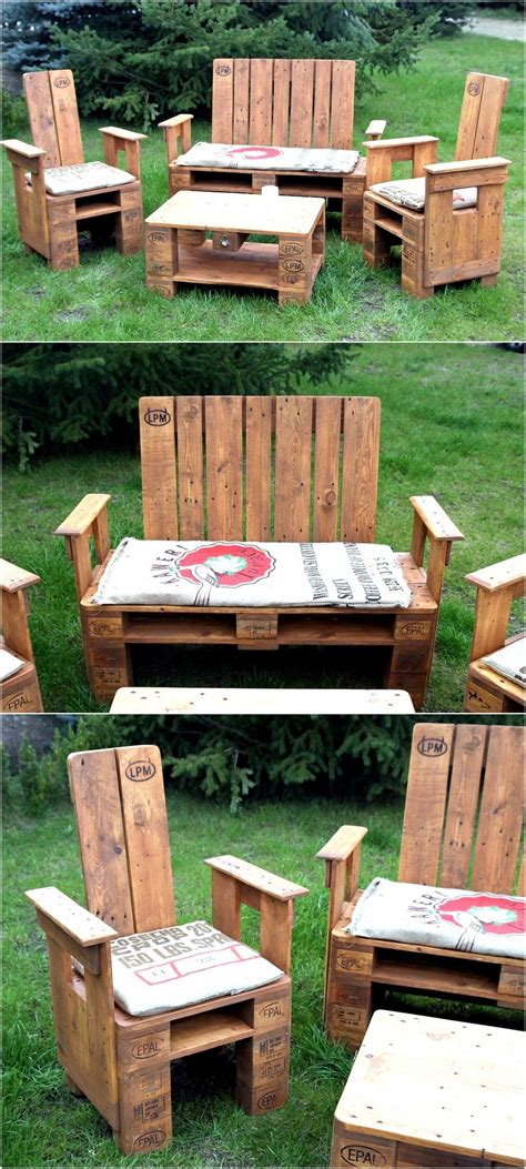Furniture Made With Pallets by Creative Pallet Recycling Ideas By S Palettenm 246 Bel