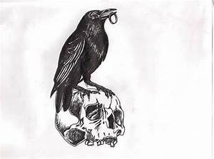 43 best 3d Black Crow Tattoo images on Pinterest | Black ...