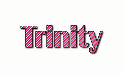 Trinity Logos Text