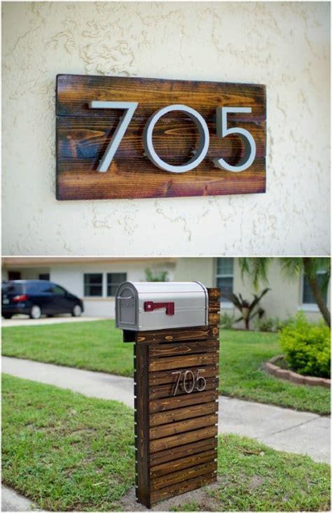 amazingly easy diy mailboxes   improve