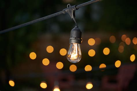 Ft. Commercial Outdoor String Lights-drop Socket