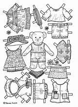 Paper Dolls Coloring Kidsprintablescoloringpages sketch template