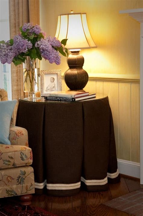 Bedroom Table Skirts side table skirt for the home circle table