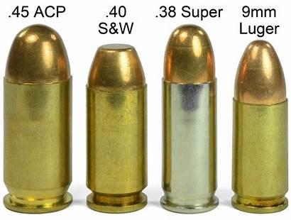 Recoil Acp 45 Caliber 9mm 38 Super