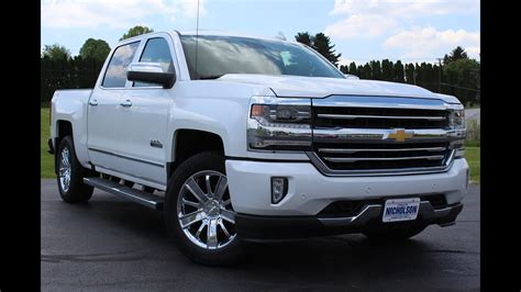 chevrolet silverado  high country  speed start