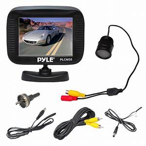 Pyle - Plcm35r - On The Road - Rearview Backup Cameras