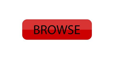 Cta Browse Button Vector And Png